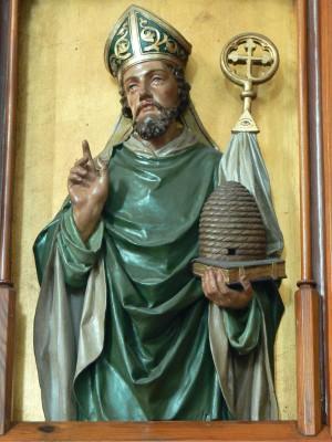 St.Peter_am_Wimberg_Kirche_-_Kanzel_4_Ambrosius