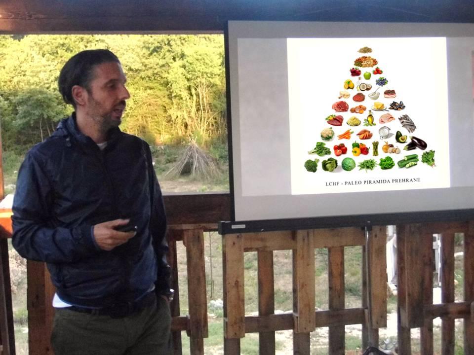 Denis Delogu predavanje u Radosi kod Poreca